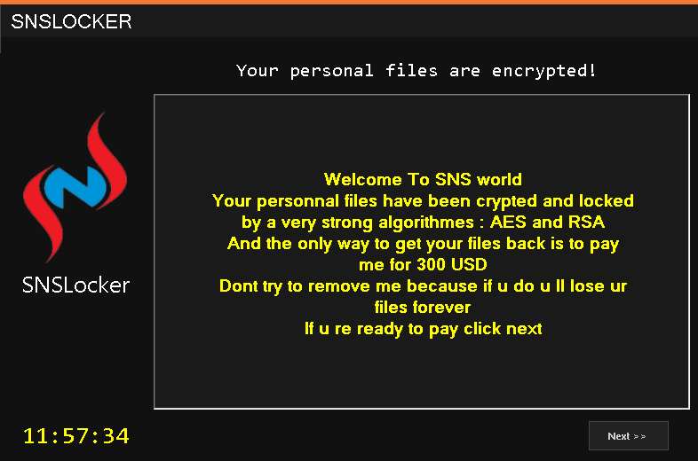 Ransomware Leaves Server Credentials in its Code