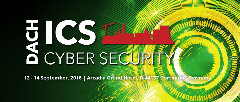 THE CYBER SECURITY PLACE PARTNERS FOR THE DACH ICS CYBERSECURITY EVENT