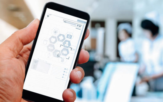 How can the healthcare sector embrace the transition to mobile working?