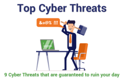 The Top 9 Cyber Security Threats That Will Ruin Your Day