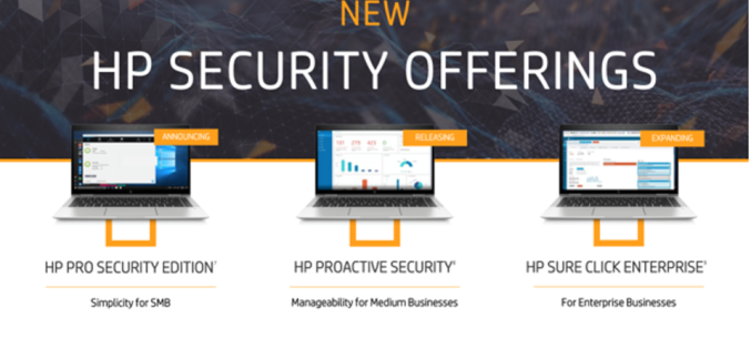 HP Inc. Bolsters Its Cybersecurity Offerings With New Endpoint Protection